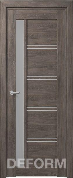 Межкомнатная дверь Deform D19 Dub Shale-grafit