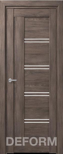 Межкомная дверь Deform D18 Dub Shale-grafit