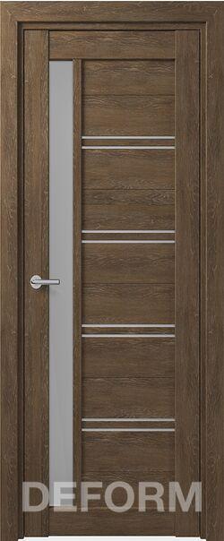 Межкомнатная дверьDeform D19 Dub Shale-korica
