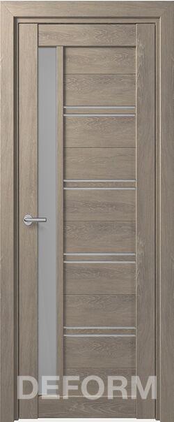 Межкомнатная дверь Deform D19 Dub Shale-sedoi