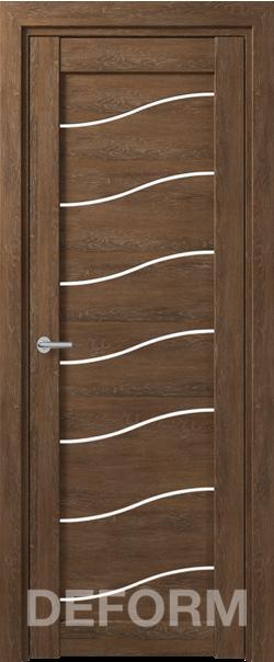 Межкомнатная дверь Deform D2 Dub Shale-korica