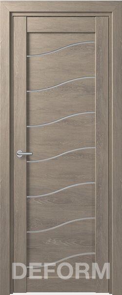 Межкомнатная дверь Deform D2 Dub Shale-sedoi