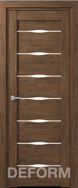 Межкомнатная дверь Deform D3 Dub Shale-korica