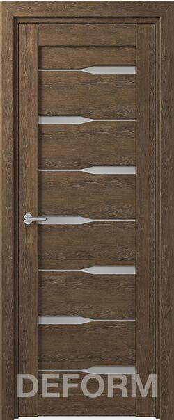 Межкомнатная дверь Deform D4 Dub Shale-korica
