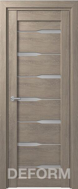 Межкомнатная дверь Deform D4 Dub Shale-sedoi