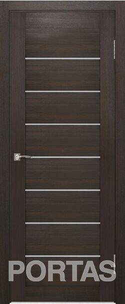 Межкомнатная дверь Портас S21 Орех шоколад