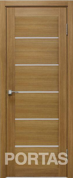 Межкомнатная дверь Портас S 22 Орех карамель