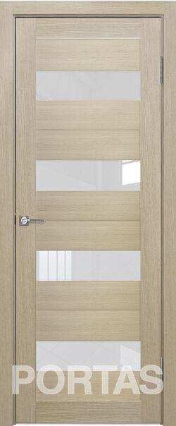 Межкомнатная дверь Портас S22 Лиственница крем