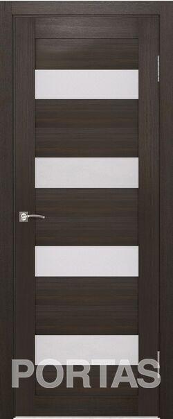 Межкомнатная дверь Портас S22 Орех шоколад