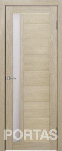 Межкомнатная дверь Портас S28 Лиственница крем