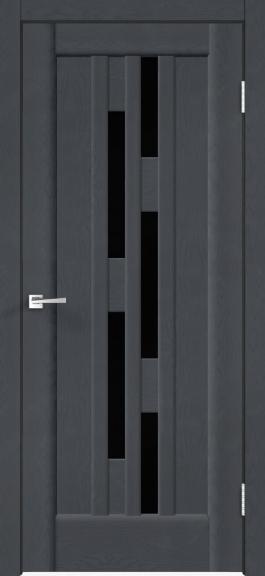 Межкомнатная дверь Premier 8 Ясень графит