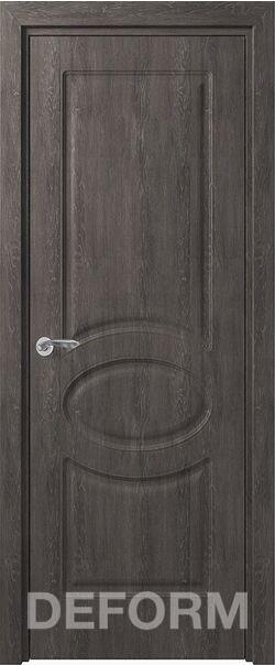 Межкомнатная дверь Прованс ДГ Дуб шале графит