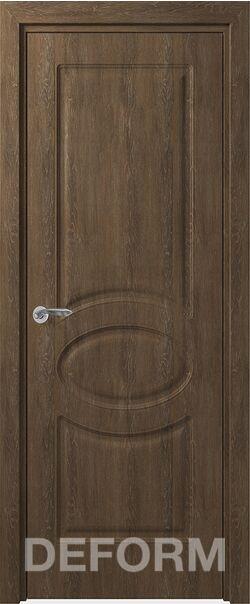 Межкомнатная дверь Прованс ДГ Дуб шале корица