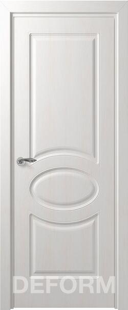 Межкомнатные двери экошпон Deform Прованс Дуб шале снежный