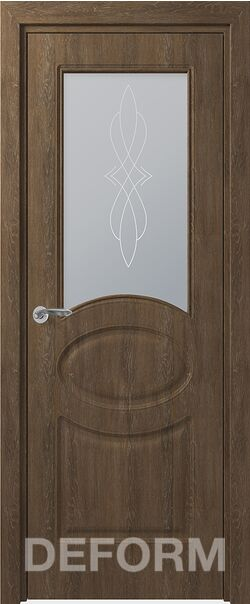 Межкомнатная дверь Прованс ДО Дуб шале корица