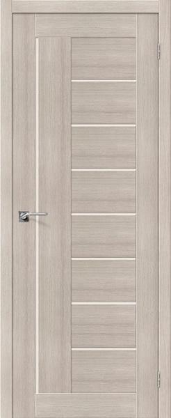 Межкомнатная дверь Портас S29 Лиственница крем