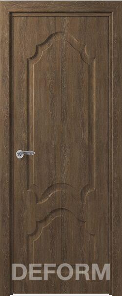 Межкомнатная дверь Тулуза ДГ Дуб шале корица