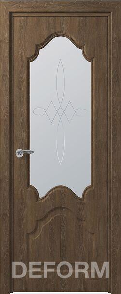 Межкомнатная дверь Тулуза ДО Дуб шале корица