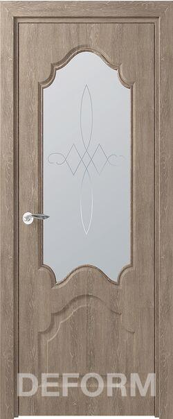 Межкомнатная дверь Тулуза ДО Дуб шале седой