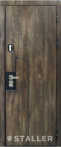 Входные металлические двери в дом Крона