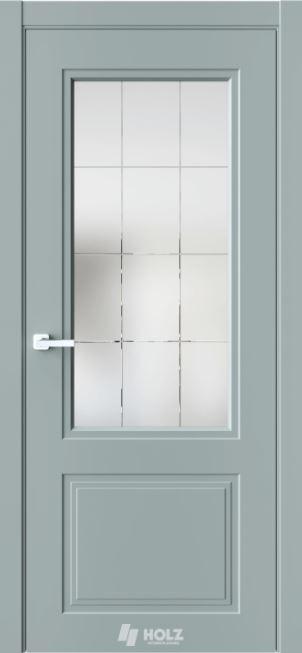 Межкомнатные двери Holz Хольц N4 Лунный