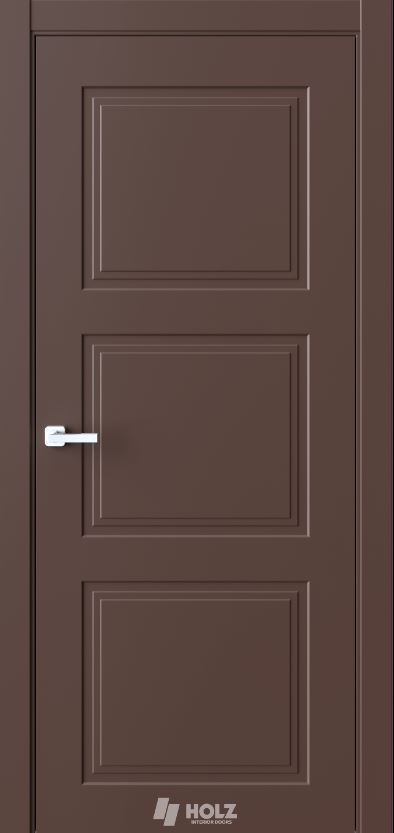 Межкомнатная дверь Holz N5 шоколад