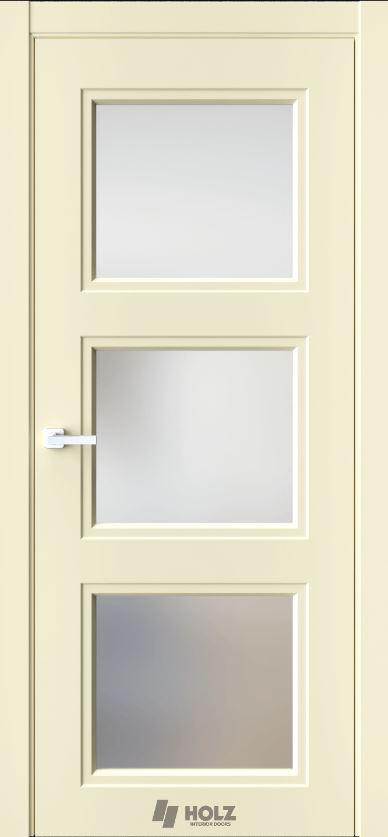 Межкомнатная дверь Holz N6 Айвори