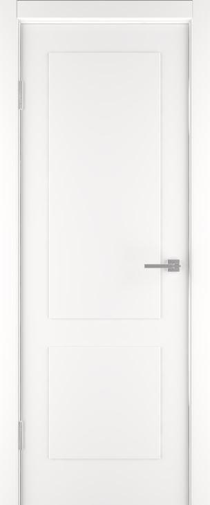 Межкомнатные двери Эстет-2 эмаль белая