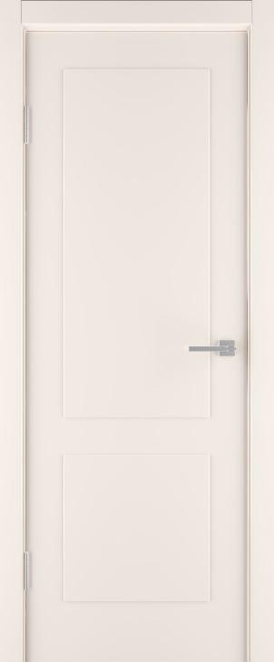 Межкомнатные двери Эстет-2 эмаль шампань