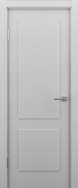Межкомнатные двери Эстет-2 светло серые
