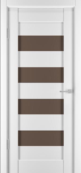 Межкомнатные двери Горизонталь-14 Софт белый