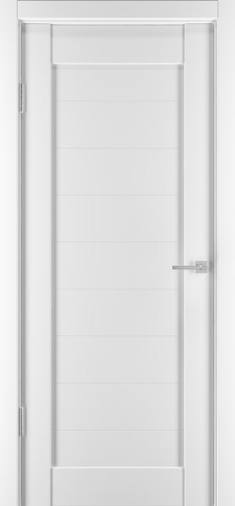 Межкомнатные двери Горизонталь-7 Софт белый