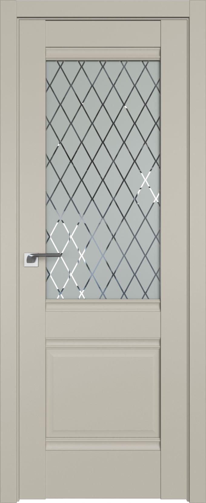 Межкомнатные двери экошпон 2U шелгрей Профильдорс