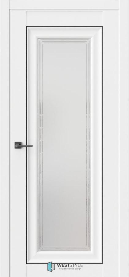 Межкомнатные двери ВестСтайл HR2 стекло 1