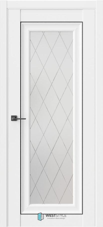 Межкомнатные двери ВестСтайл HR2 стекло 2