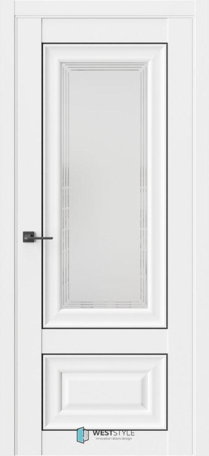 Межкомнатные двери ВестСтайл HR4F стекло 1