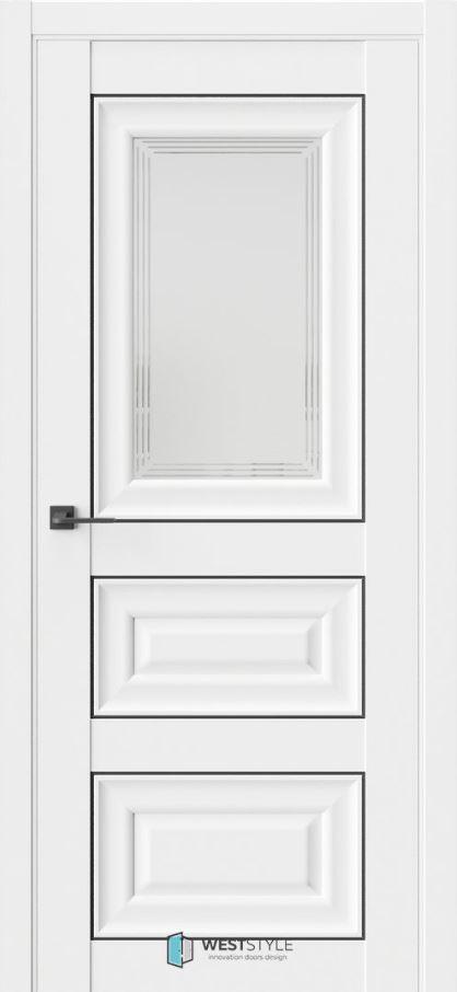 Двери межкомнатные ВестСтайл HR6F
