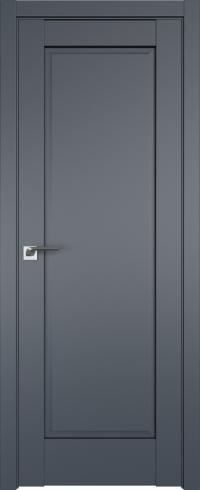Двери межкомнатные 100U Антрацит
