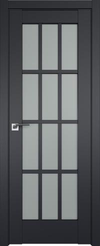 Межкомнатные двери 102U Черный матовый