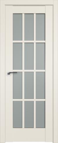 Межкомнатные двери 102U Магнолия Сатинат