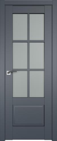 Межкомнатные двери 103U Антрацит