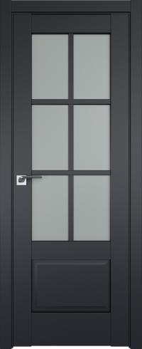 Межкомнатные двери 103U Черный матовый