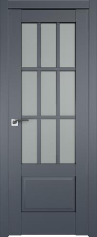 Двери межкомнатные 104U Антрацит
