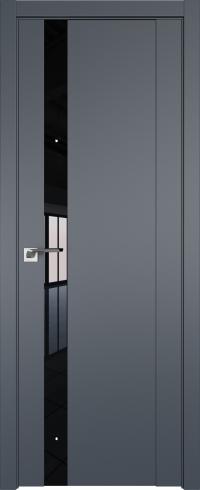 Дверь межкомнатная U62 Антрацит