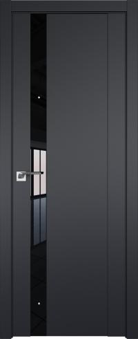 Двери межкомнатные 62U Черный матовыйЧ