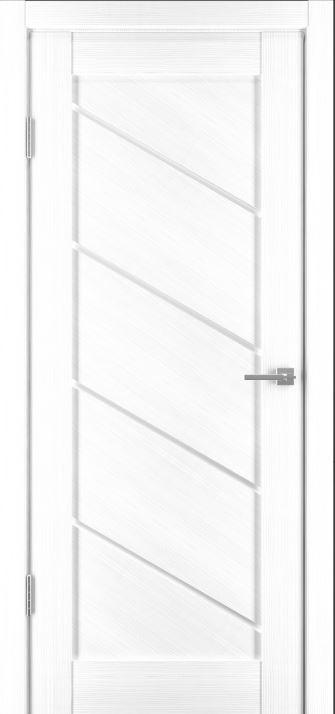 Межкомнатные двери Исток Диагональ-1 Ясень белый
