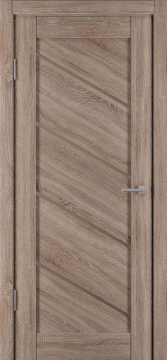Межкомнатные двери Исток Диагональ-1 Спил седой бронза