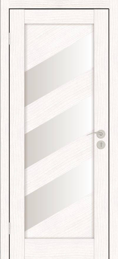 Межкомнатные двери Исток Диагональ-2 Бьянко