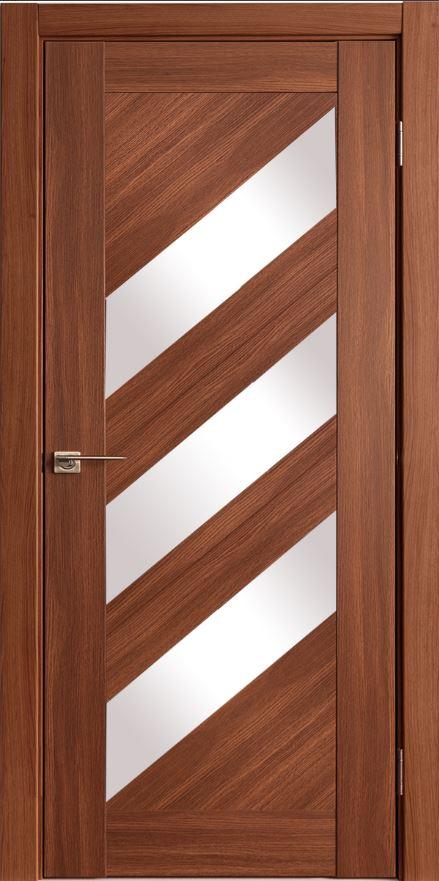 Межкомнатные двери Исток Диагональ-2 Каштан мелинга