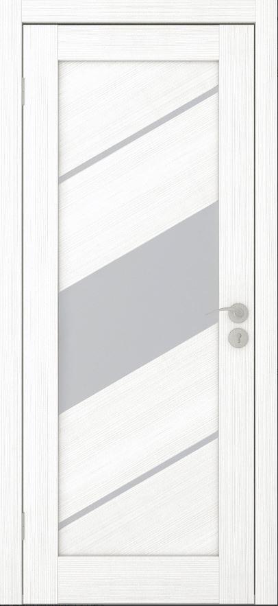 Межкомнатные двери Исток Диагональ-3 Ясень белый